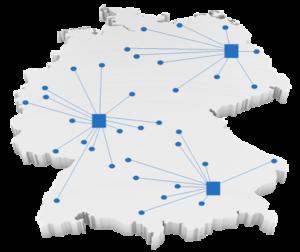 Standorte Vernetzung